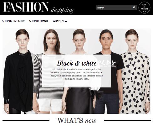Online Fashion-Shopping