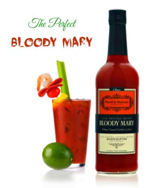 Perfect Bloody Mary #recipe Powell and Mahoney