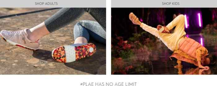 Plae shoes