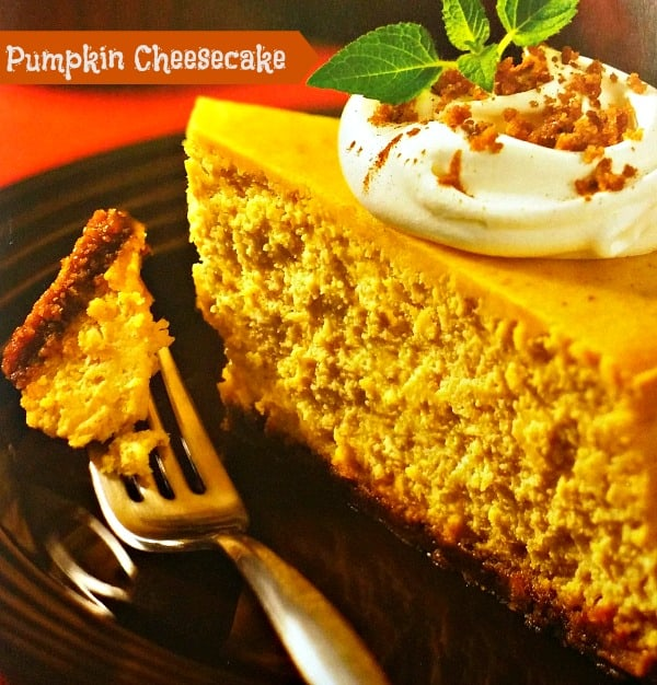 Pumpkin Cheesecake #Recipe