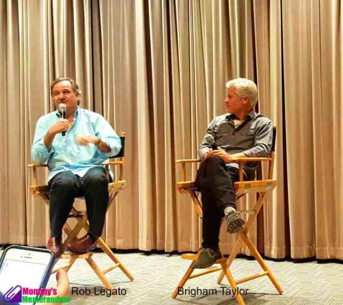 Rob Legato and Brigham Taylor for the jungle book