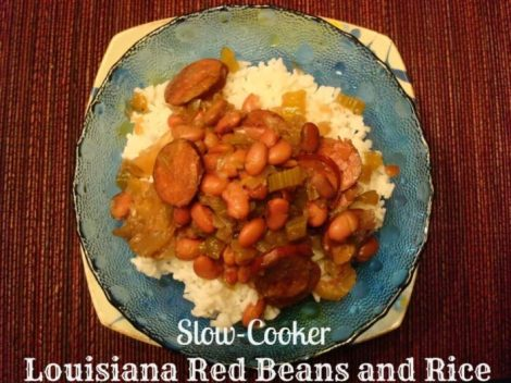 Slow-Cooker Louisiana Red Beans and Rice #Recipe #Slowcooker #mardigras