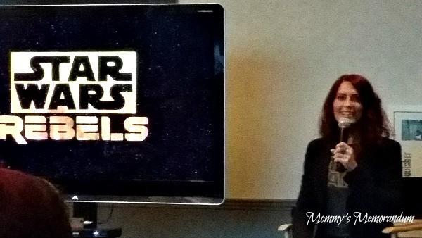 #StarWarsRebelsEvent Vanessa Marshall