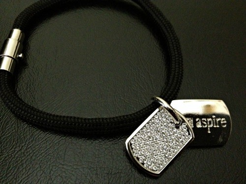 Stella Valle Jewelry Collection Inspiration Dog Tag Bracelet
