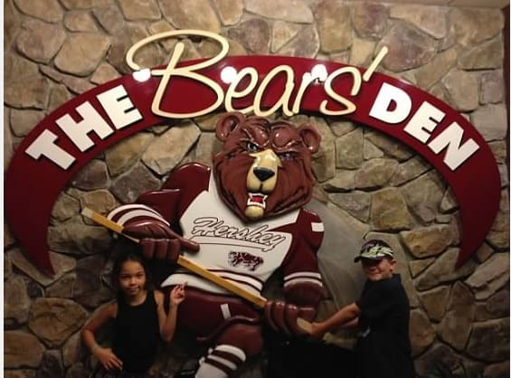 The bear den hershey park