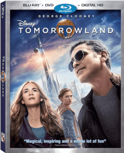 Own #TOMORROWLAND on Blu-ray, Digital HD & Disney Movies Anywhere 10/13!