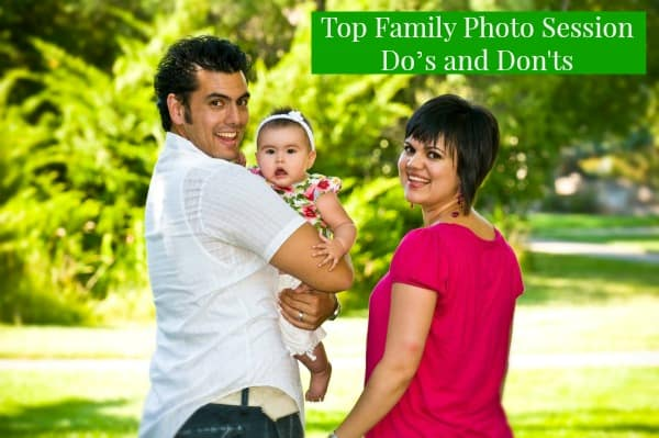 Top Family Photo Session Do's and Don'ts Mommy's Memorandum