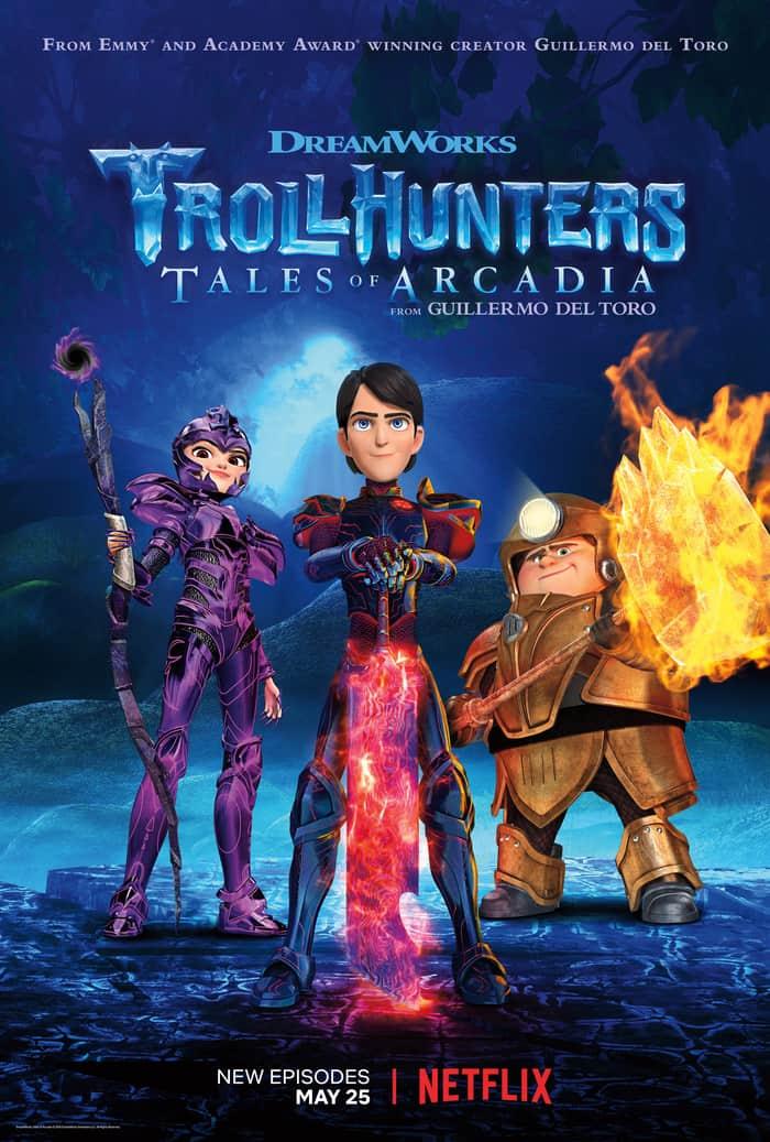 DreamWorks Trollhunters Part 3 debuts on Netflix May 25