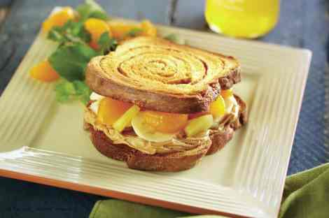 Triopical Fantasy Jif Peanut Butter Creative sandwich contest