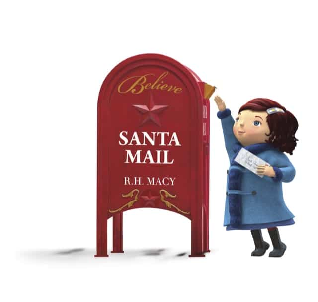 Macy's is the place to deliver Santa's Letters