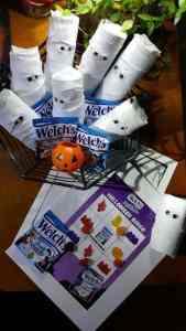 Paper Roll Mummy Craft for Trick-Or-Treat Fun + Welch's BINGO
