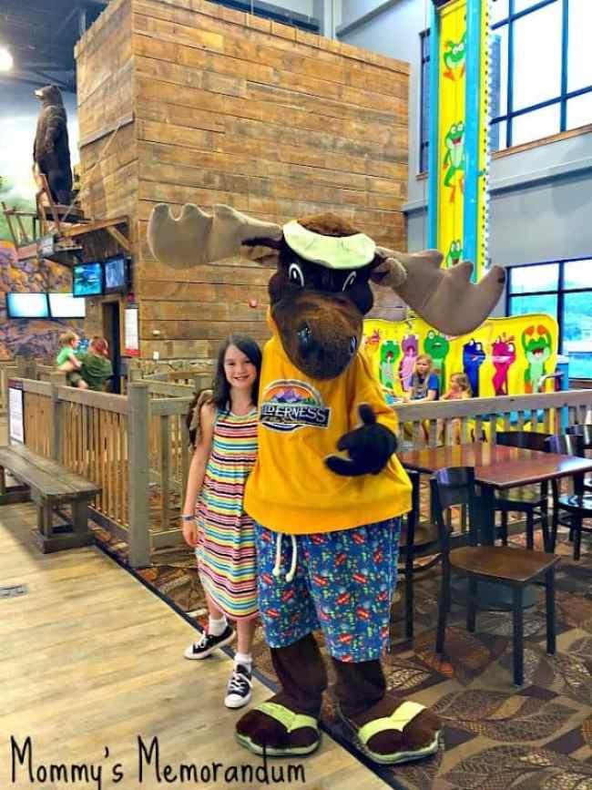 Wilderness at the Smokies Mascot