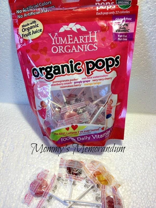 YUMEARTH Organic Pops