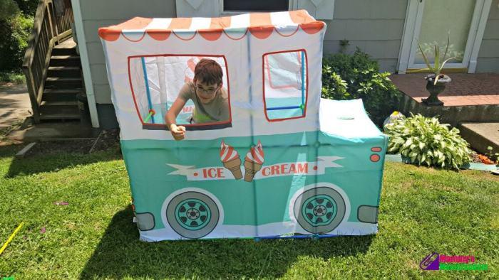 antsy pants ice cream truck serving ice cream