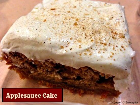 applesauce cake #Recipe