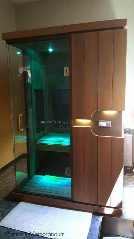 aquafloat infrared sauna