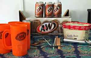 A&W Root Beer Floats on National Root Beer Float Day + Float Recipes