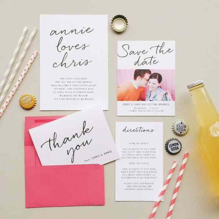 basic invite wedding invitation and announcements
