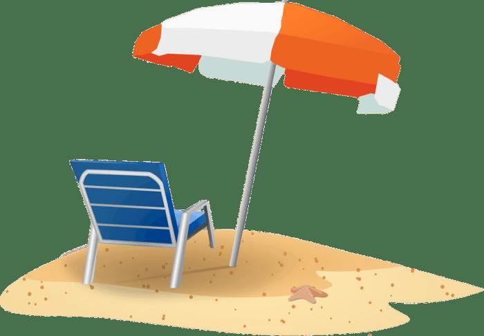 beach trip checklist