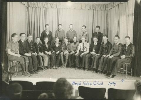 bill meeks glee club