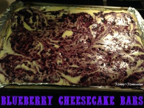 Kraft foods blueberry cheesecake bars #CookingUpGood #ad