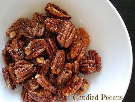 candied pecans #recipe #DIY #NOM