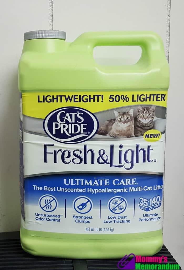 cat's pride litter jug
