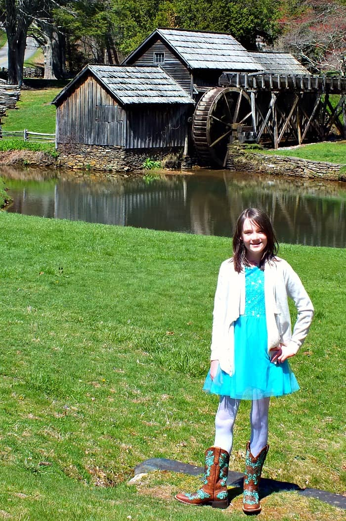 cavenders with mabry mill in background