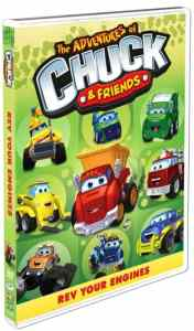 Chuck and Friends: Rev Your Engines on DVD