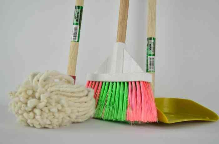 cleaning tips when moving into a new home