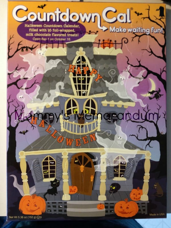 Halloween countdown calendars