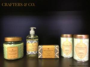 Crafters & Co. Collection Candle and Hand Soap from @Hallmark #LoveHallmark