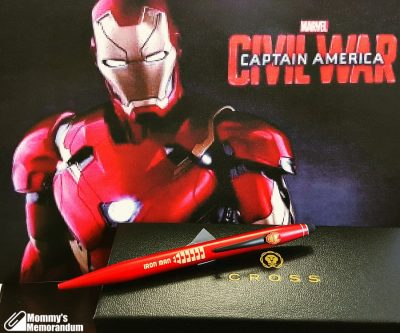 cross pens iron man