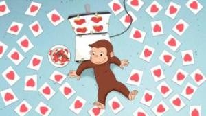 Curious George Valentine's Day special airs Feb 9