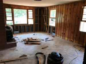 Fixer Upper: Demolition of the Great Room