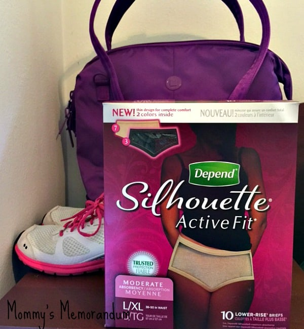 depend silhouette active fit in box