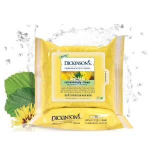 dickenson's witch hazel cleansing cloths