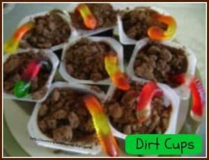 Dirt Cup Pudding Recipe