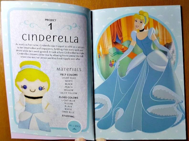 disney princess felt kit instruction booklet