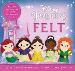 disney princess felt kit