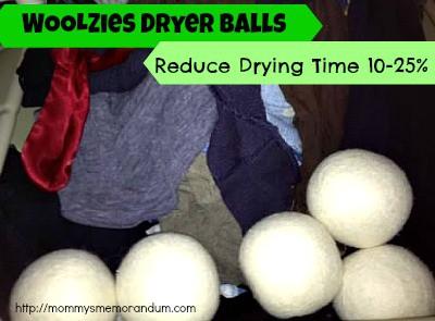 Woolzies Dryer Balls Save Energy