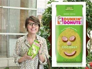 dunkin donuts coconut