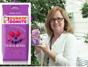 dunkin donuts triple berry