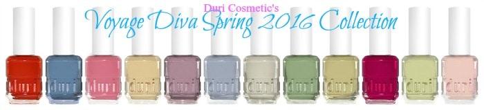 duri nail polish voyage diva collection