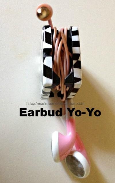 earbud yo yo side view