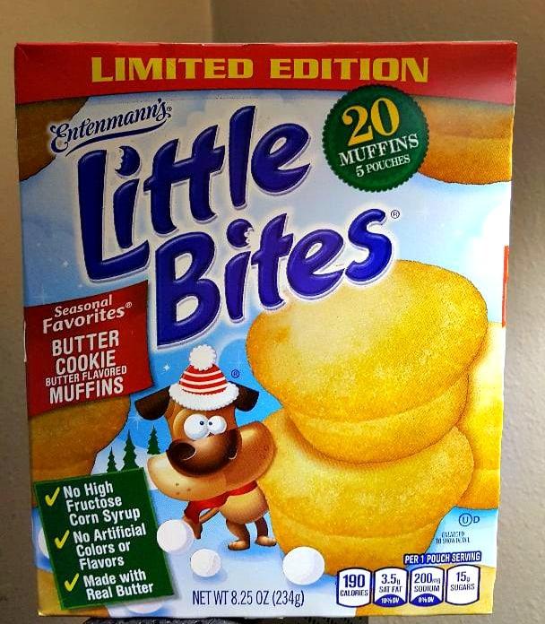 entenmann's little bites butter cookie box