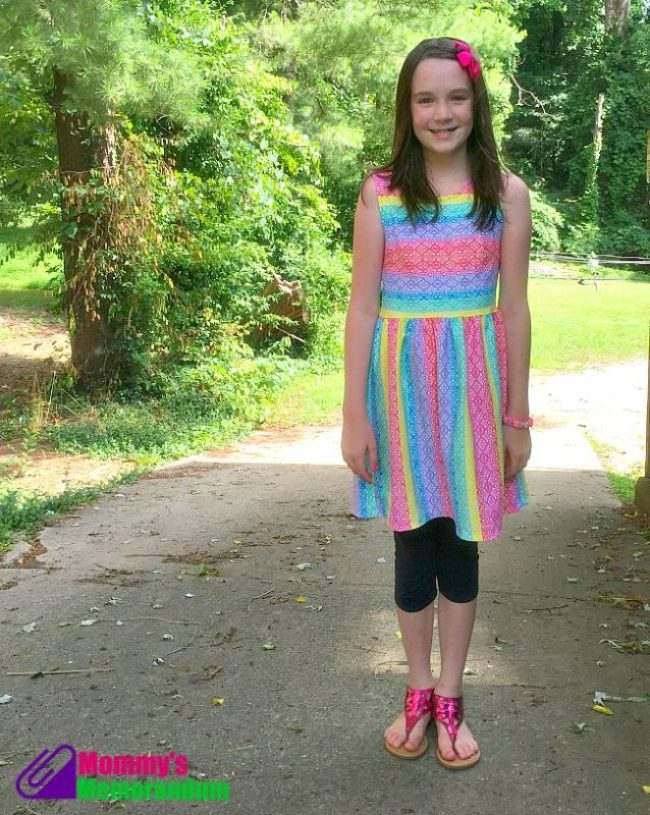 #fabkids rainbow lace dress