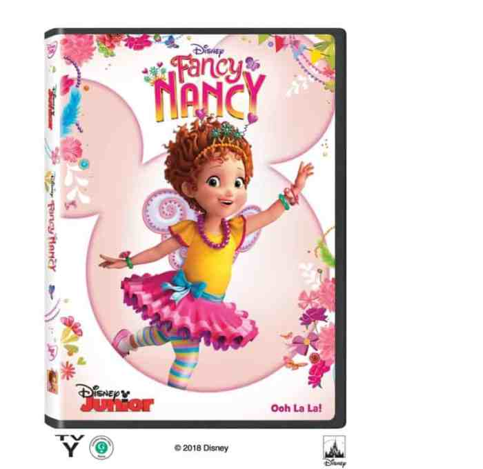 fancy nancy dvd