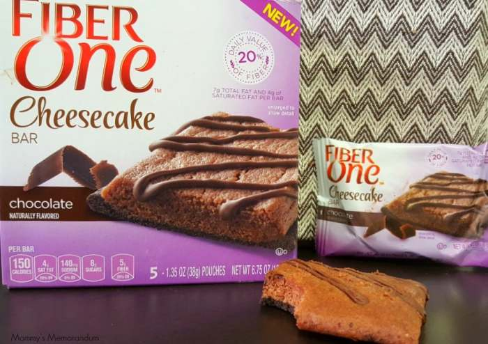 fiber one chocolate bar