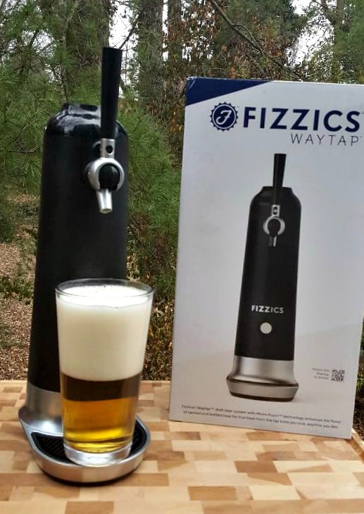 fizzics with finished beer